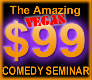 How To Write Comedy | $99 Vegas Weekend Worshop
